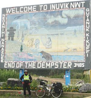 Cycling Dawson City to Inuvik on the Dempster Hwy