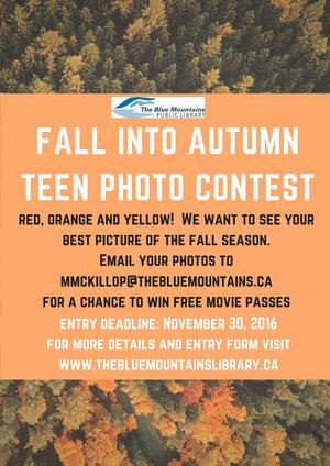 Teen Photo Contest