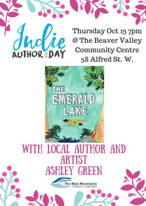 Indie Author Day with Ashley Green