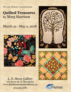 Quilted Treasures by Marg Harrison