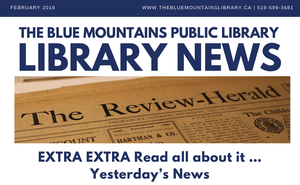 Library News, February 2019