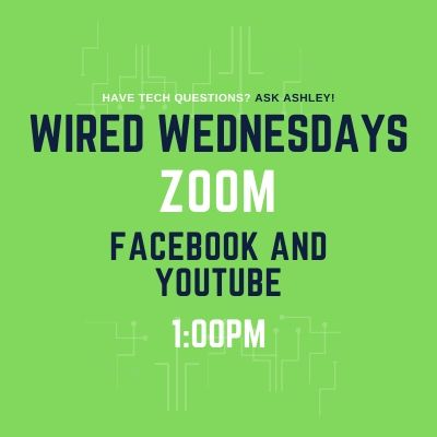Wired Wednesdays Live: Zoom (Video)