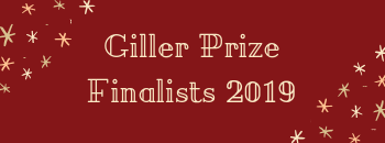 Giller Prize Finalists 2019