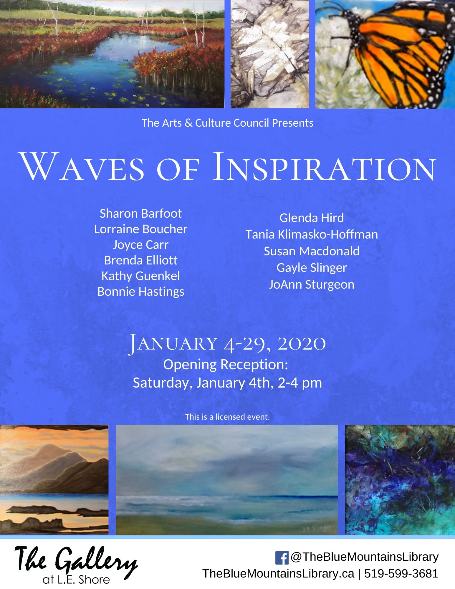 Waves of Inspiration: The Shoreline Artists Group